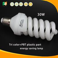 Long life full spiral CFL 30W E27 B22 energy saving light