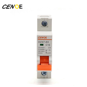Miniature Mini Circuit Breaker Size C45 Mcb Of 12 Years Manufacturer
