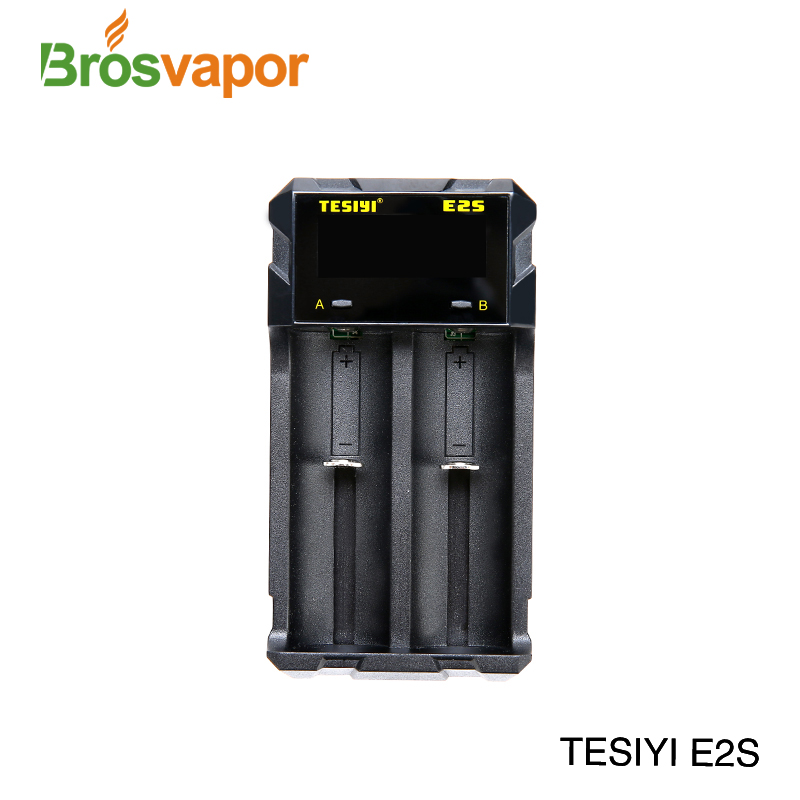 2018 Newest TESIYI Brand T2 T3Plus T4 E2 E2S Y2 Charger and 18350 18650 26650 20700 21700 battery charger in stock cheap price