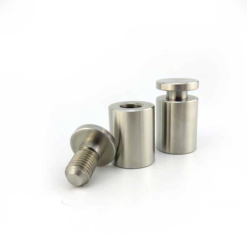 ISO Certificated Stainless Steel Glass Standoff Frameless Fittings Standoff Fastener