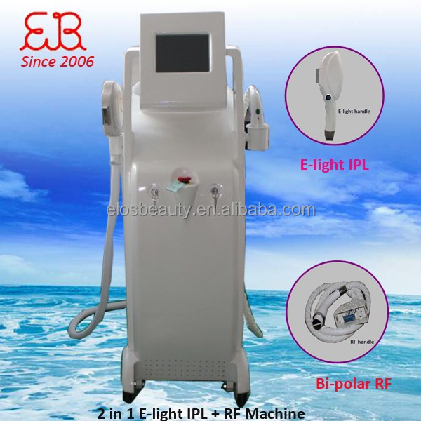 ELOS beauty machine e light hair removal/ipl skin rejuvenation/effective stretch mark removal beauty equipment
