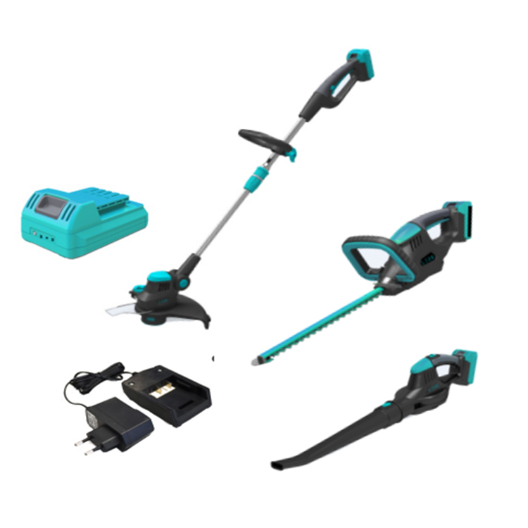Hot sell 대 한 UK market 18 볼트 accu grass trimmer 와 edge cutting function
