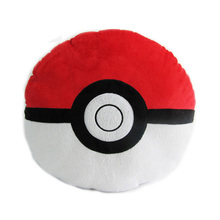 Best selling hold pillow new arrival pp soft 40cm pokeball anime plush toys