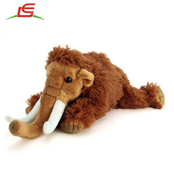 Real animal stuffed Mammoth plush animal toy