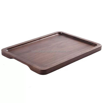Solid walnut wood tray walnut plate