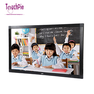 Education 43 inch wifi touch screen interactive smart white board with teaching software