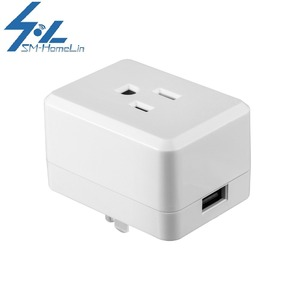 Factory Supplied Mini Wi-fi Smart Socket With USB Smart Home Automation