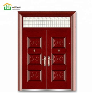 Industrial Swing Open Style and Finished Surface Finishing High quality double fire rated safe steel door