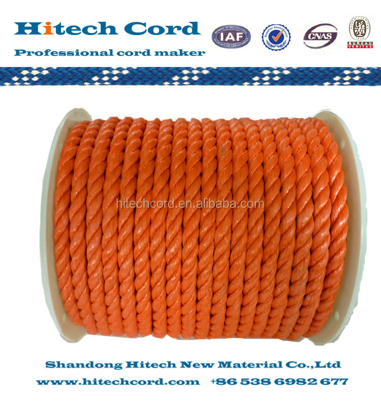 PP Raffia Twisted Rope with Different Color
