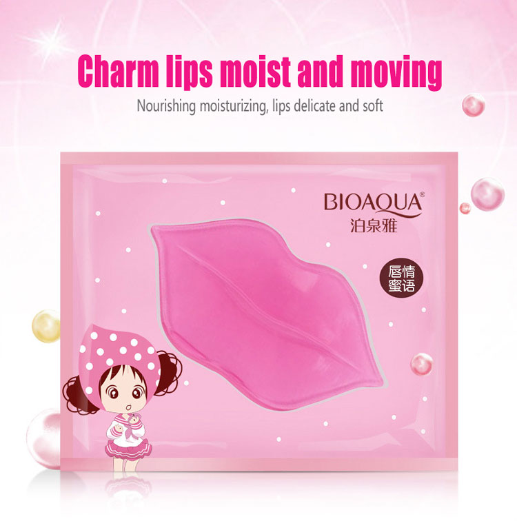 OEM/ODM BIOAQUA Collagen nourishing lip mask for skin care Fading lip lines moisturizing hydrating firming mask