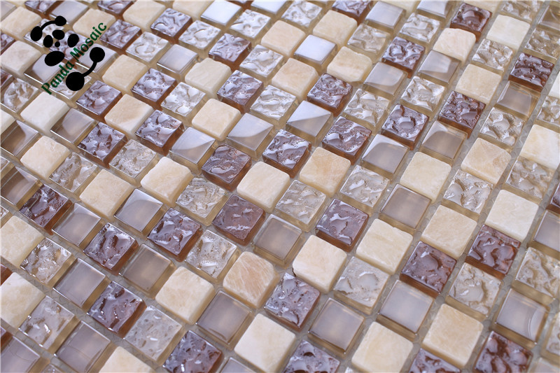 MB SMS08 Premium Mosaic Bathroom Tile Design Glass Mix Stone Mosaic  Flooring Tile Prices. Alibaba Manufacturer Directory   Suppliers  Manufacturers
