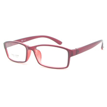 Custom brand High quality TR90 frames Thin temple transparent two color glasses frame