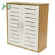 High Quality large storage wooden Bamboo Shoe Cabinet