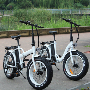 Transportation Electric Bicycle Black Foldable China E Road Bike folding fat tire electric bike RSEB507