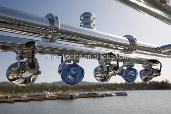 L br5a wakeboard tower light bar with 5 lights water ski boat l br5a wakeboard tower light bar with 5 lights water ski boat lamps polished aluminum bars buy wakeboard tower light barboat lightsmarine lights aloadofball Gallery
