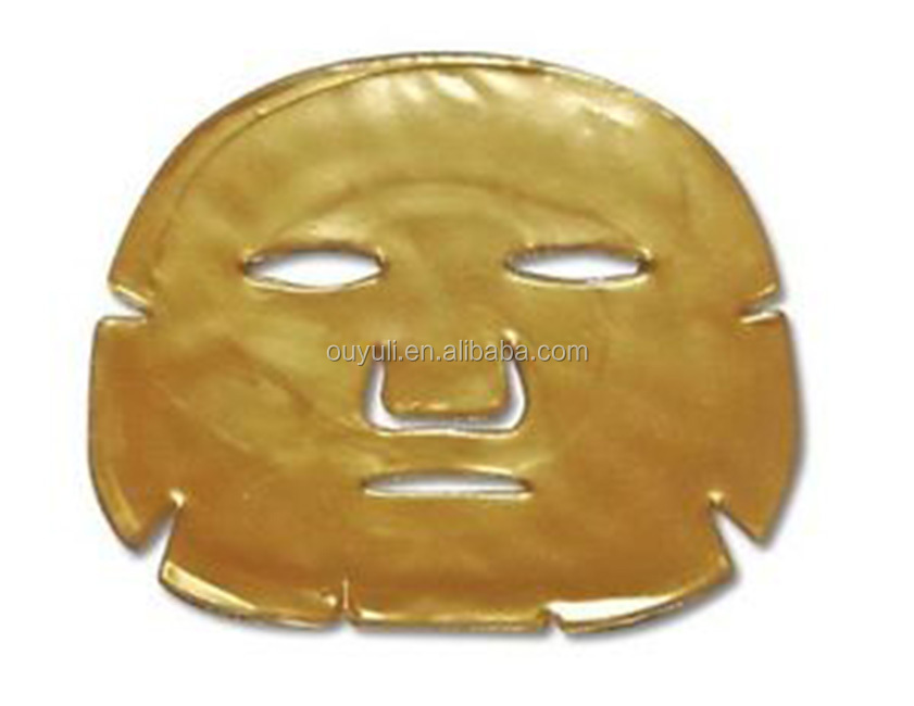 En Stock Bio-masque facial en cristal de collagène d'or