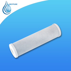 "Free sample CTO filter 5"" 10"" water filter replacement cartridge activated solid block carbon filters black NSF 20"""