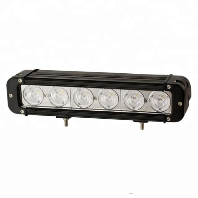 "60W offroad led roof light bar IP67 <strong>CREEs</strong> DC9-48V 11"" 60w 5400LM single row Spot/Flood/Combo off road truck led bar light"