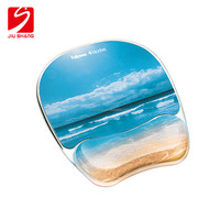 Custom design best gift hot big sexy silicone breast gel wrist rest mouse pad