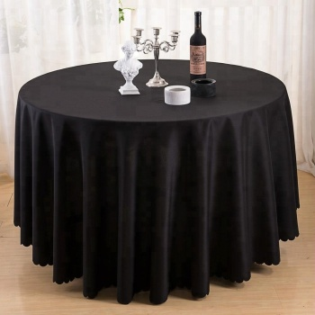 Alibaba & Wholesale Table Linens 132 Inch Black Round Table Cloth Factory - Buy Black Round Table ClothWholesale Table LinensTable Cloth Factory Product on ...