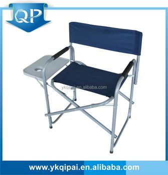 Pas Cher Haute Qualité Directeurs Légers Chaise Avec Table D'appoint Pliante Buy Chaise Directeurs Avec Table D'appoint Pliante Product on