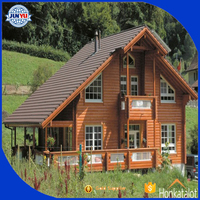 Best wooden house price / prefab house price /wood log-cabin kit