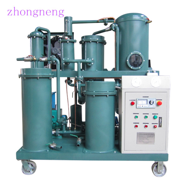 China Insulation Oil Purifier/ Mobile Transformer Oil Purification Plant With Doors
