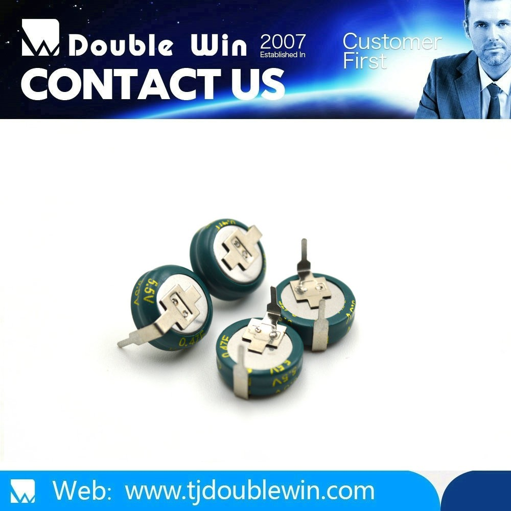 Best price for Different voltage C/H/V coin super capacitor/ultracapacitor TJ Doublewin