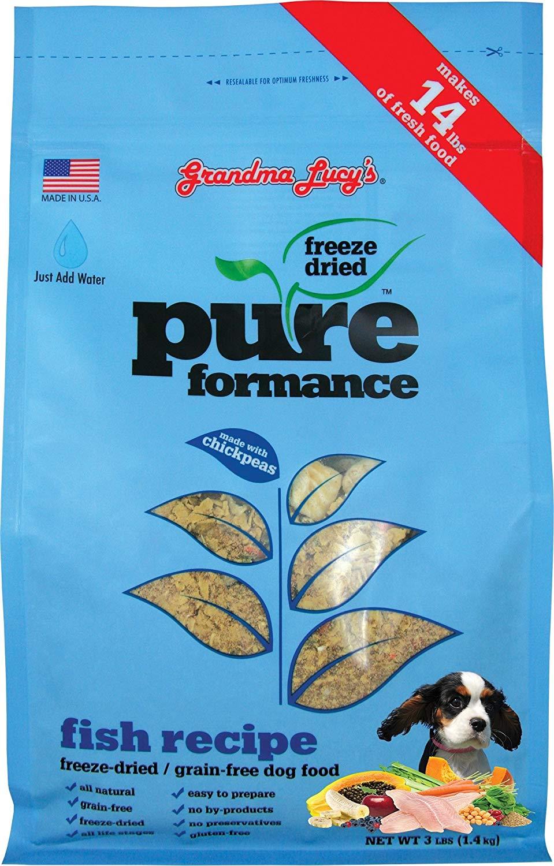 Grandma Lucy's PUREformance Freeze Dried Dog Food