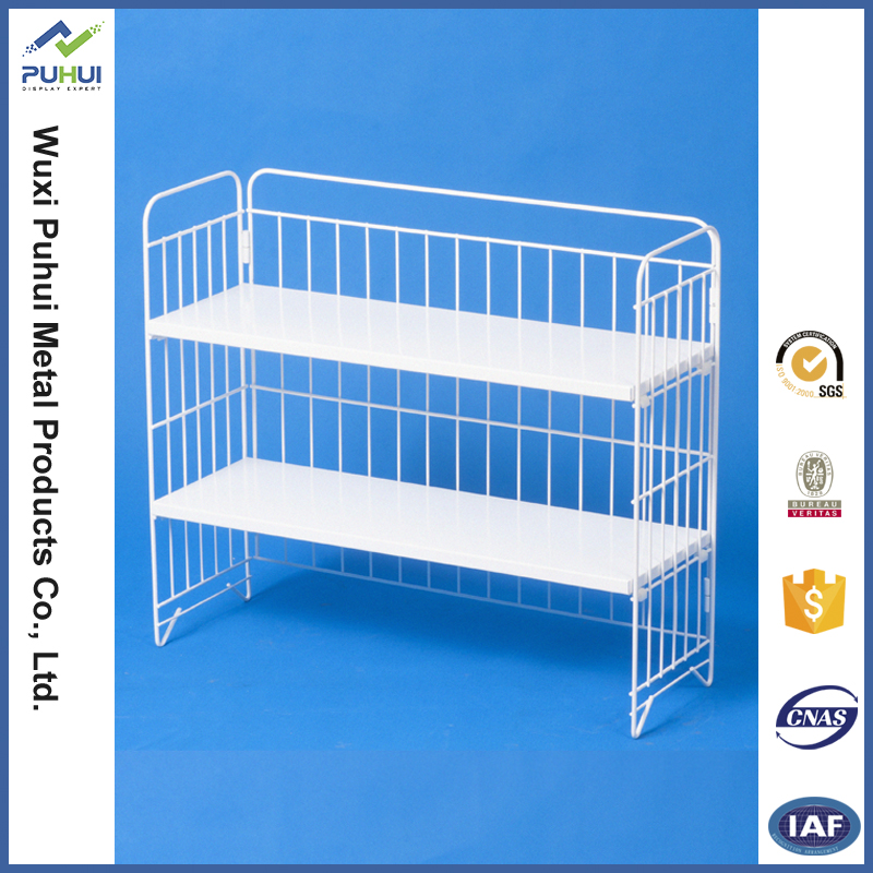 3 in 1 small metal shelf for kitchen organization