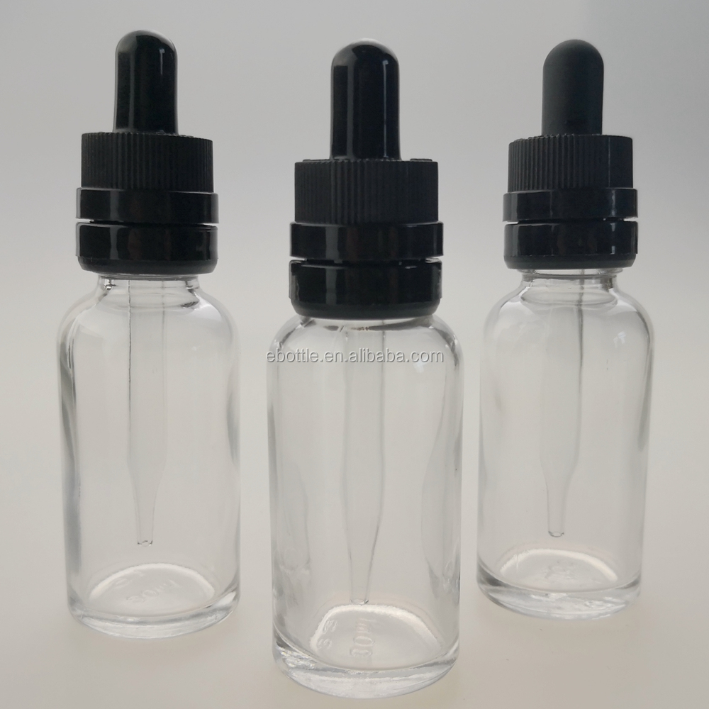 Vape Eliquid Electronic Cigarettes Glass Bottles with Glass CRC Droppers