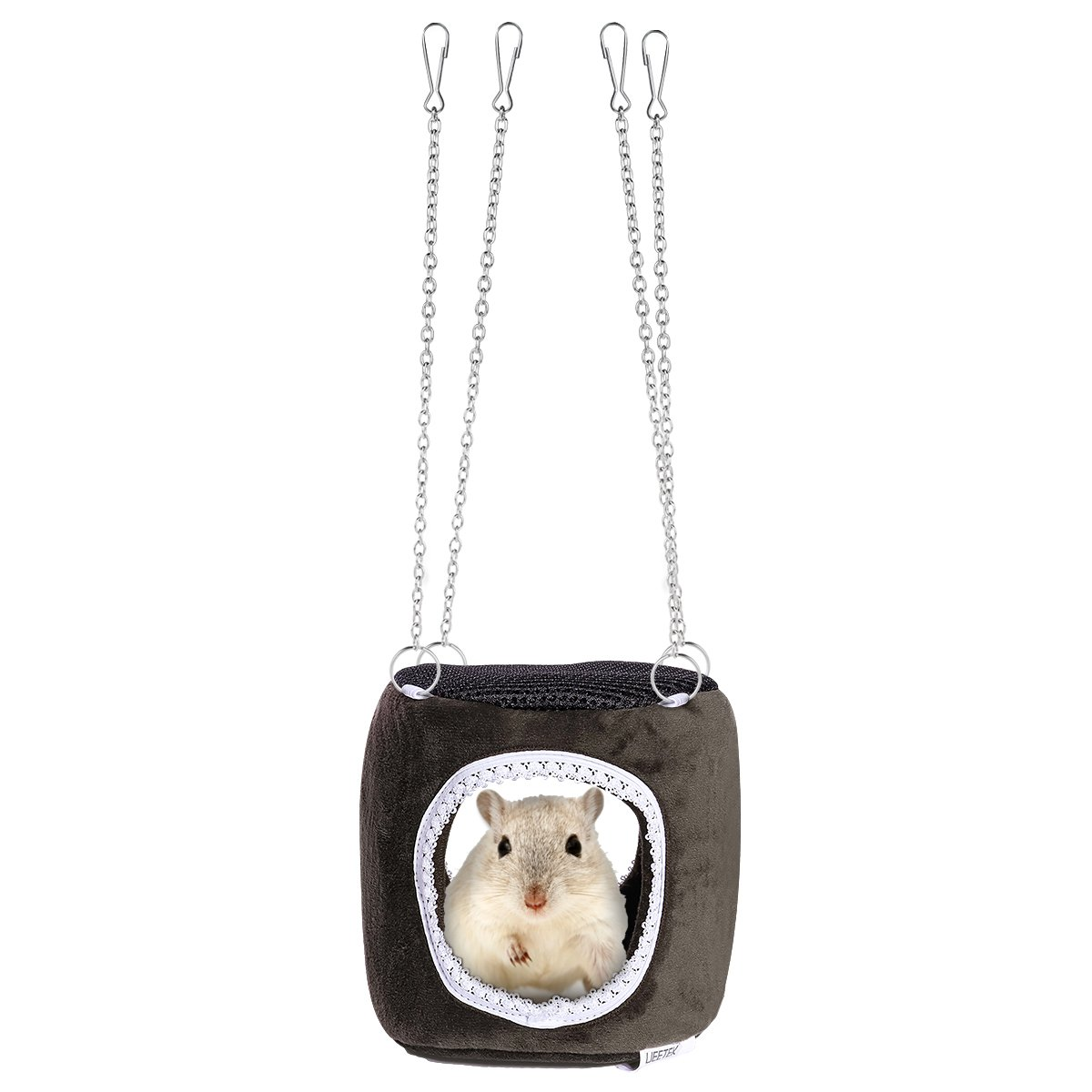In Design; 1.4m Adjustable Pet Hamster Harness Rope Gerbil Cotton Rope Harness Lead Collar For Rat Mouse Hamster Pet Cage Leash Novel