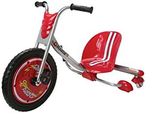 NEW Razor 360 Flash Rider Ride On Tricycle Trike Go Kart Bike Bicycle RED