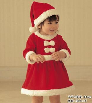 Retal Baby Girls Christmas Clothes Santa Baby font b Dress b font font b Children b