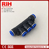 plastic gas pipe thread plastic pipe 5 ways fittings