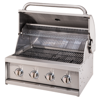 CE Certificate Stainless Steel Tabletop Built in BBQ Gas Grill