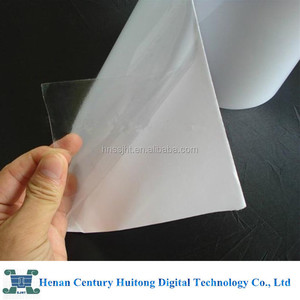 60 micron PVC transparent transfer application film for sale