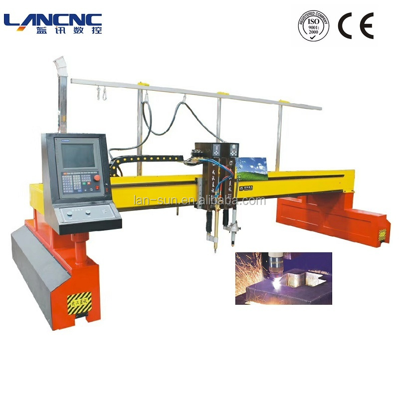 63A/100A/120A/160A/200A Power Supply Opsional Pengolahan Logam Mesin Pemotong CNC Plasma Cutting
