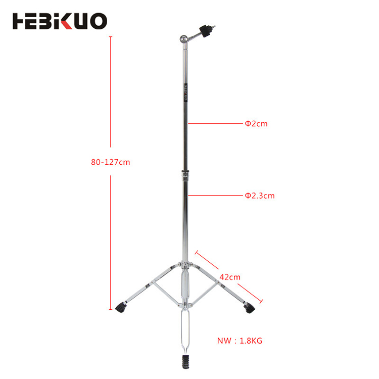 HEBIKUO G300 Profissional melhor preço stands stand snare hi hat tambor cymbal stand