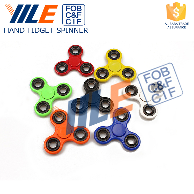 YILE Brand Educational Toy Gyro Relieve Stress Hand Spinner Figit Spinners