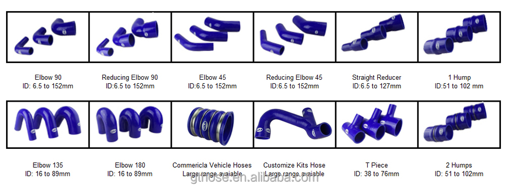 tuning car silicone hose/high temperature truck radiator hose/135 degree elbow silicone rubber hose