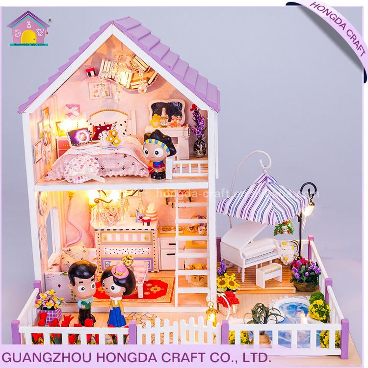 Montiert Billige Geschenk-sets Handwerk,Puppenhaus Plexiglas ...