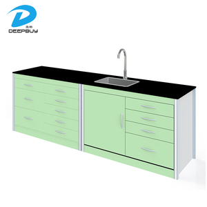 HPL Metal Hospital Dental Furniture Cabinet Dental Laboratory Furniture, Dental Laboratory Desk