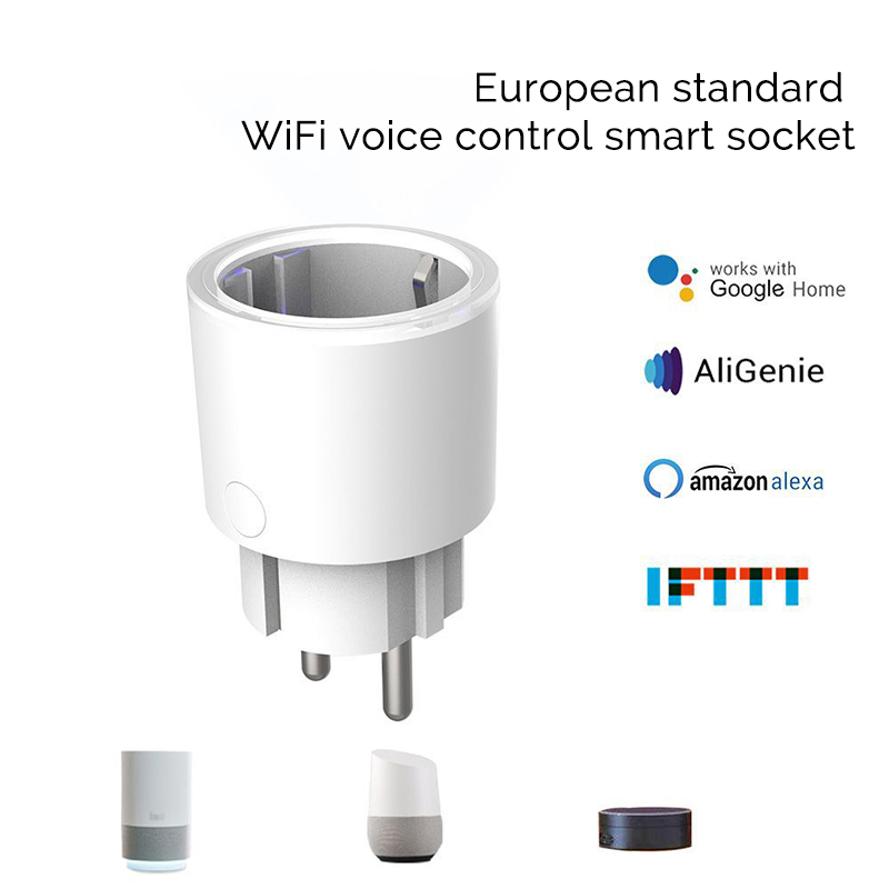 Wifi smart home fernbedienung smart power buchse Drahtlose fernbedienung tuya smart stecker