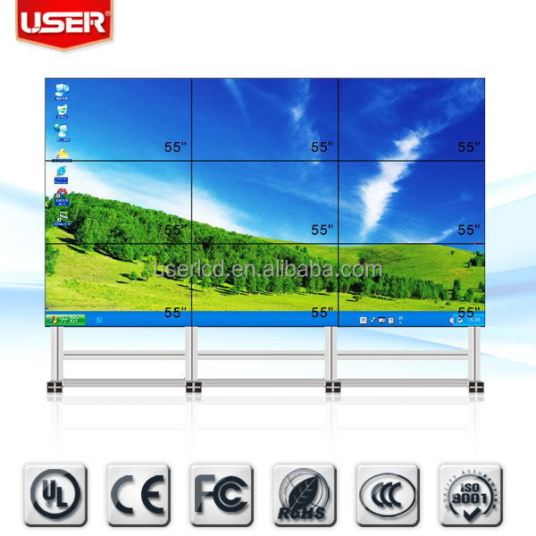 Economic new products ultra thin lcd video wall signboard