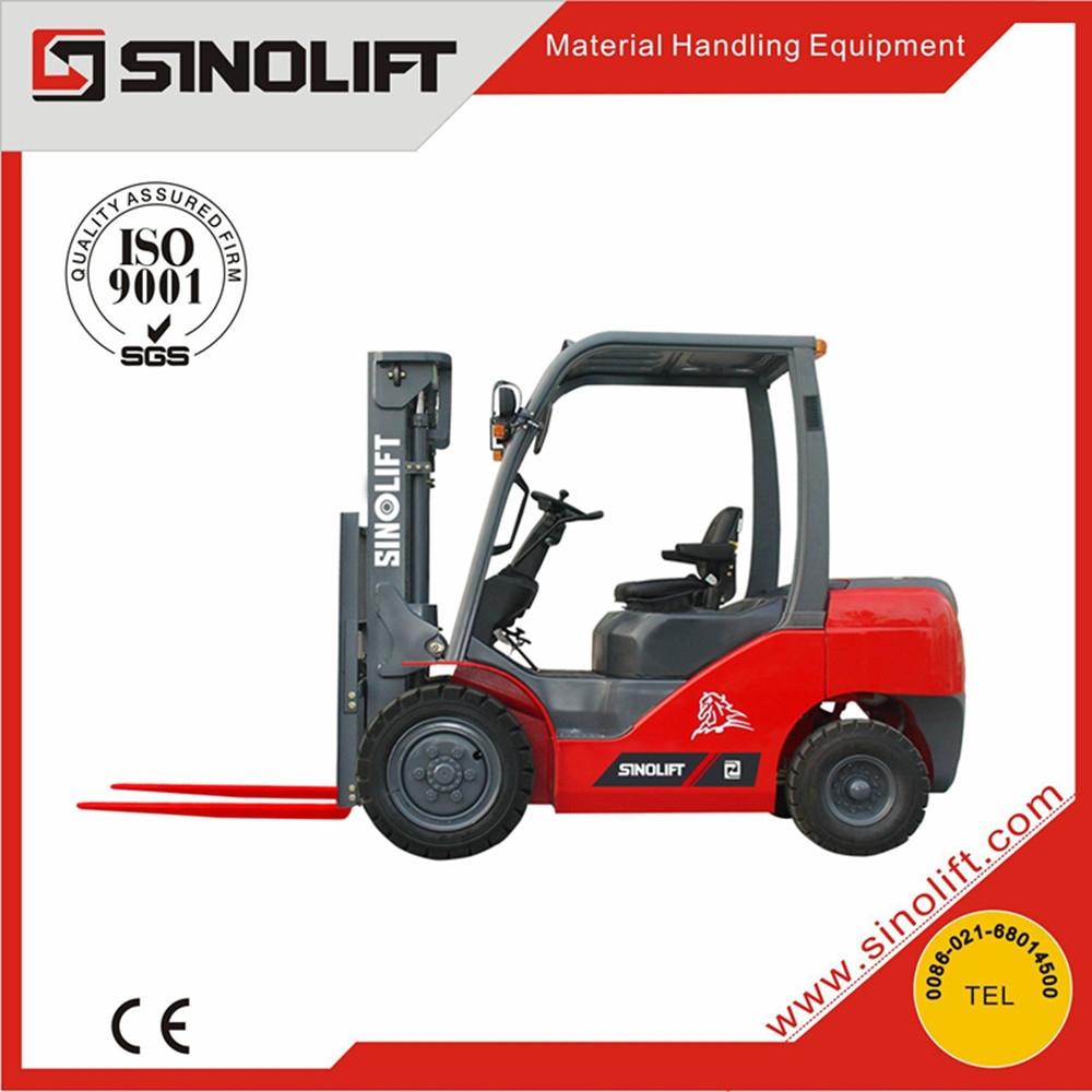 2015 New Sinolift G Series IC Powerful Comfort Diesel Forklift 3 tons by Isuzu Engine
