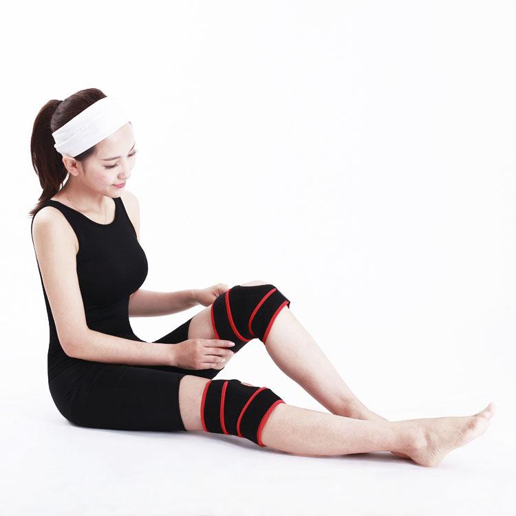 LDR materiaal hoge elastische sport knie ondersteuning riem
