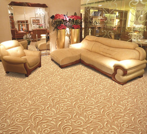 Decorative Newly design Jacquard wall to wall carpet roll high traffic commercial carpet roll carpet tiles factory OEM