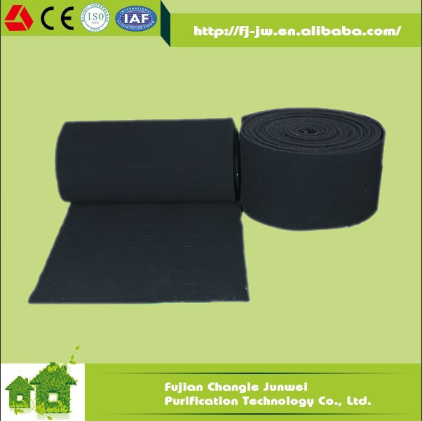 Activated Carbon Filter Felt (cut-to-fit) Carbon Roll Or Carbon ...