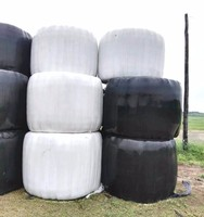 Blown Silage Film Hay Plastic Bale Wrap On Promotion